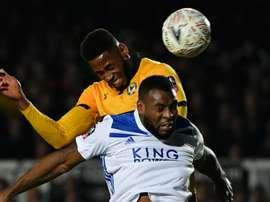 Humiliation pour Leicester. Goal