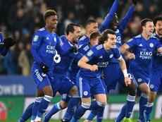 Leicester won. GOAL