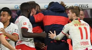 Leipzig drew 2-2. GOAL