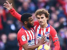 The fellow Frenchman is hoping the Atletico star will stay. GOAL