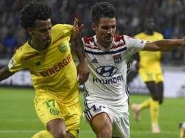Nantes arrache le nul à Lyon. Goal
