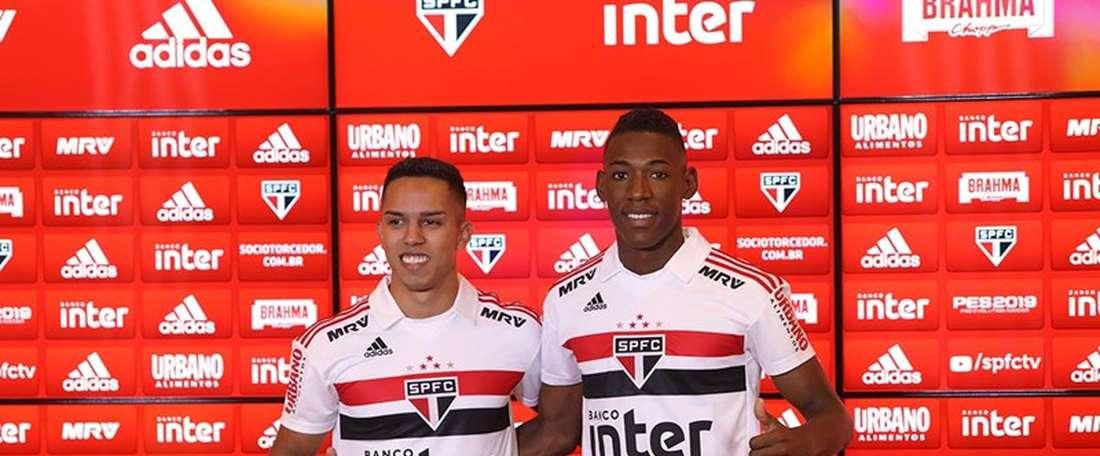 Novos reforços no São Paulo. Goal
