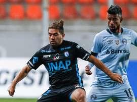 Leo Moura Deportes Iquique Gremio Libertadores