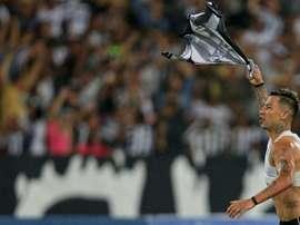 Leo Valencia Botafogo Nacional Sul-Americana. Goal