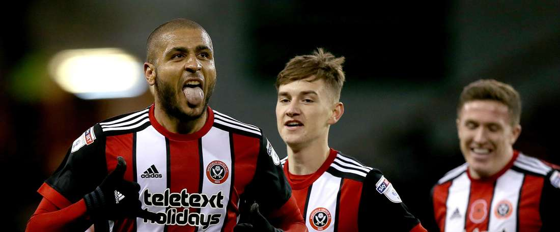 Clarke was in clinical form for Sheffield United. GOAL