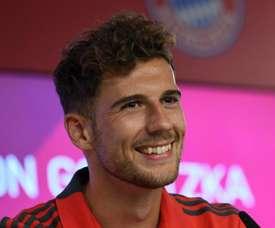 Leon Goretzka Bayern Munich. Goal