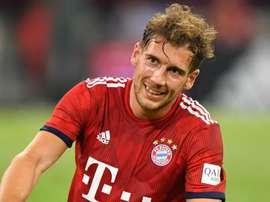 Mission accomplished for Bayern Munich new boy Goretzka. Goal