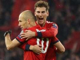 Leon Goretzka FC Bayern 27112018. Goal