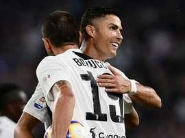 Bonucci faz coro para Cristiano Ronaldo ficar com a Bola de Ouro
