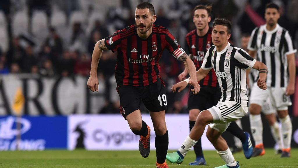 Bonucci pushing for Juventus return, says AC Milan's Leonardo