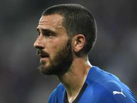 Leonardo Bonucci Italy 2018. Goal