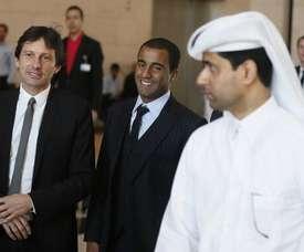 Leonardo est venu remplacer Al-Khelaifi. Goal