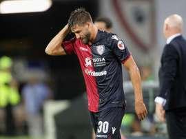 Pavoletti out. Goal