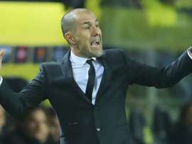 Monaco manager Leonardo Jardim. GOAL