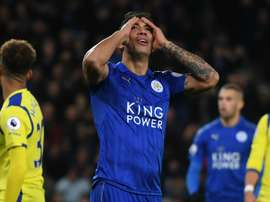 Leicester's Leonardo Ulloa says he will no longer play for the club. Goal