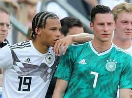 Draxler says he is curious to see what will have happen with Sane at Man City. GOAL