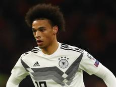 Sané não fala sobre ida ao Bayern.
