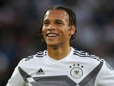 Leroy Sané could be signing for Bayern Munich in the summer. GOAL