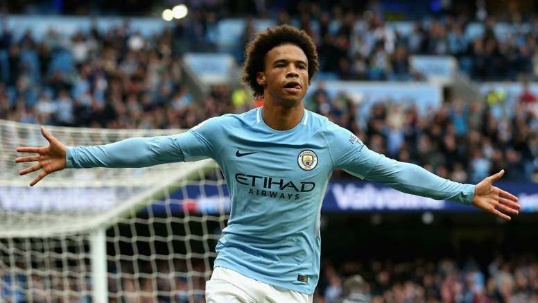 Sane was buoyed by some words of wisdom from Pep Guardiola. GOAL