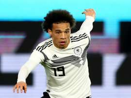 Sane is fit for the Holland game. GOAL