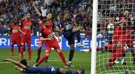 Les Herbiers took a humble defeat to PSG in the Coupe de France final. GOAL