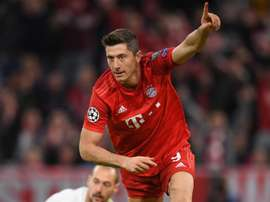 Lewandowski happy after scoring 200th Bayern Munich goal