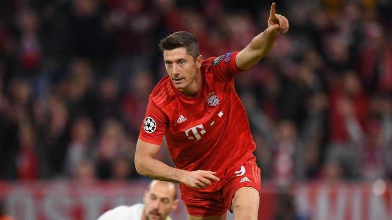 Lewandowski happy after scoring 200th Bayern Munich goal