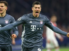 Lewandowski finishes Champions League group stage as top scorer