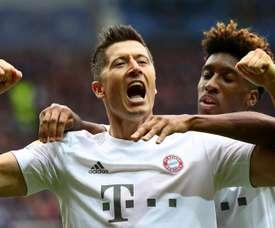 Lewandowski made Bundesliga history in Bayern's win over Paderborn. GOAL