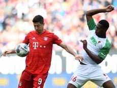 Le Bayern cale à Augsbourg. AFP