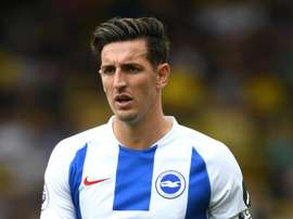 Lewis Dunk has earned a call-up to the England suqad. GOAL