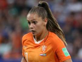 Lieke Martens is hopeful of appearing in Sunday's final against the USA. GOAL