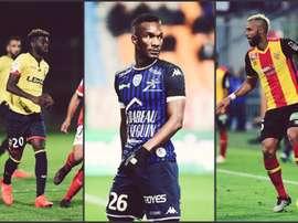 Le Top 3 du mercato de Ligue 2. AFP