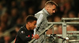 Lingard injury compounds Manchester United's Europa League frustration. GOAL