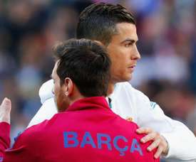 Ronaldo has spoken of his desire to see rival Messi in Serie A. GOAL