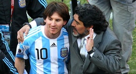 Maradona was the Argentina coach during the 20210 World Cup. GOAL