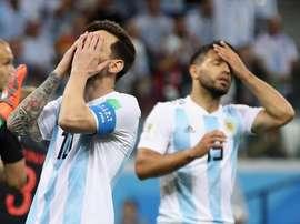 Messi ne serait pas heureux. Goal