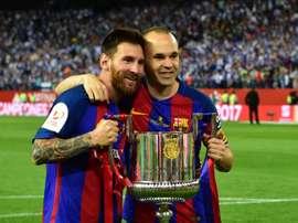 Messi e Iniesta são exemplos de longevidade no Barcelona. Goal