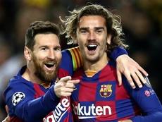 Messi e Griezmann começam a se entender no Barça. Goal