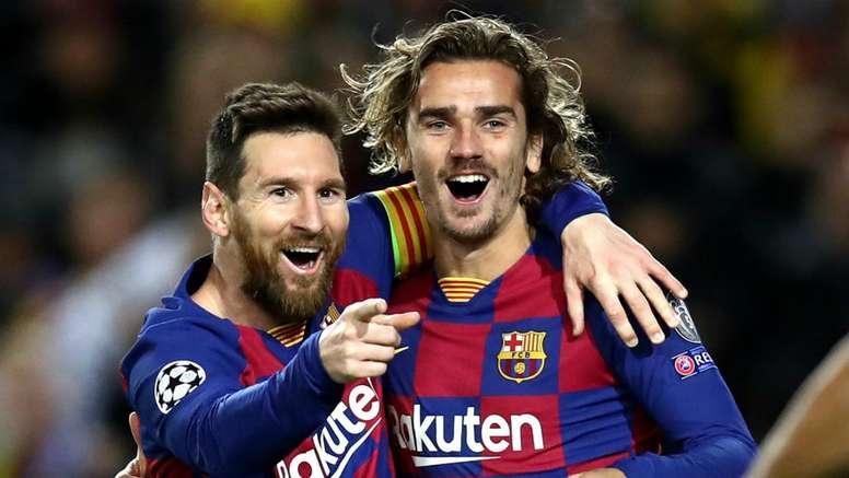 Griezmann se derrete por Messi