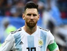 Lionel Messi Argentina 2018. Goal