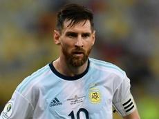 Messi marca contra o Brasil e acaba com jejum de sete anos. GOAL