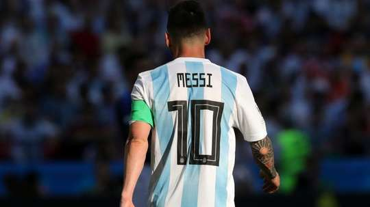 Lionel Messi Argentina France Francia World Cup 2018. Goal