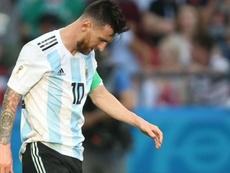 Lionel Messi Argentina France Francia World Cup 2018. Goal