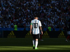 Lionel Messi Argentina France Russia 2018 World Cup. Goal