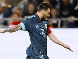 Argentine-Uruguay : le ton est monté entre Messi et Cavani. AFP