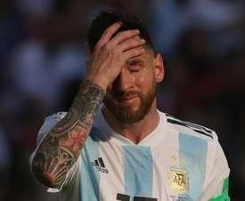 Scaloni sobre ausência de Messi