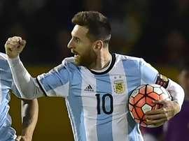 O gol que quase custou caro a Messi. Goal