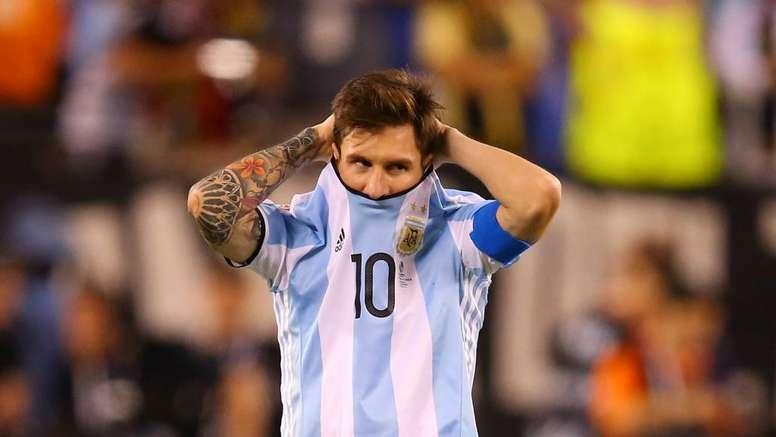 Messi e o seu pior momento com a camisa da Argentina. Goal