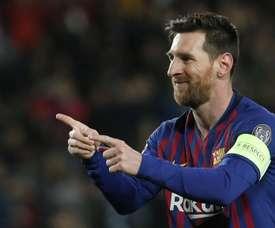 Messi responde dentro de campo. Goal